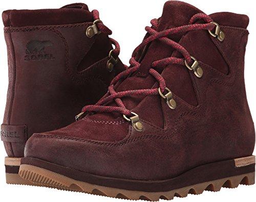 SOREL Women's Sneakchic Alpine Redwood Boot (Alpine Leather Boot)