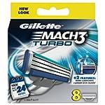 Gillette Mach3 Turbo Refill Razor Bla...