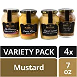 Maille Gourmet Mustard Variety, 4 Pack