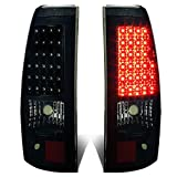 DNA Motoring TL-CSIL03-LED-BK-SM Tail Brake Lights (Driver and Passenger Side)