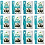 gimMe Snacks | Organic Seaweed Thins | Toasted Coconut | Gluten-Free & Non-GMO | 0.77 Ounce (22g) - (Pack of 12)