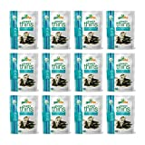 Cheap gimMe Snacks Organic Seaweed Thins, Toasted Coconut, Gluten-Free & Non-GMO, 0.77 Ounce (22 g) – (Pack of 12)