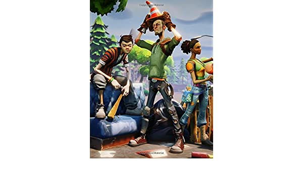 Fortnite - Save The World Cone Head: Journal Paper Notebook ...