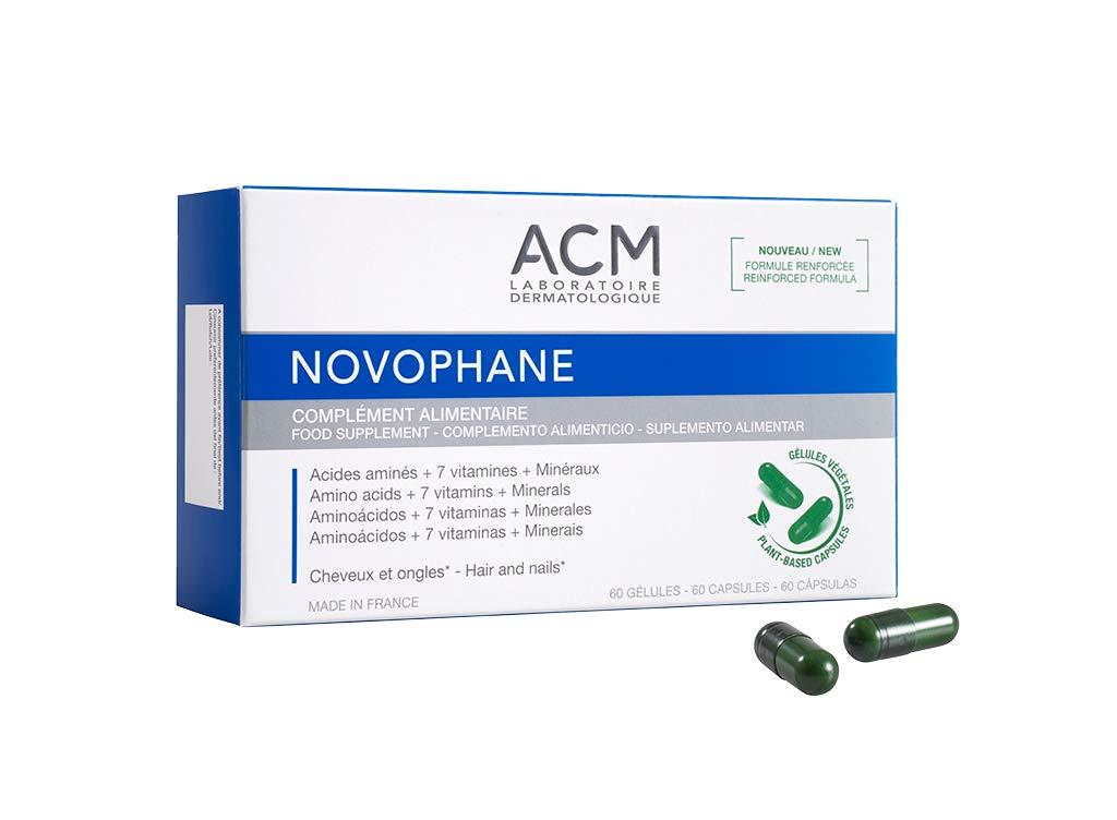 NOVOPHANE 60 CAPS ACM Hair loss Alopecia Hair and Nails fragility Regrowth