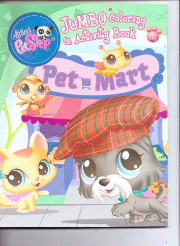 Littlest Pet Shop Jumbo Coloring & Activity Book (Assorted, Art Covers Vary, - Shop Coloring Pet Littlest