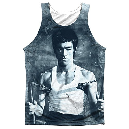 Tank Top: Bruce Lee- Nunchucks Size L ()