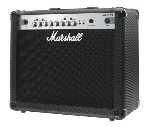 Marshall MG4 Carbon Series MG30CFX 30 Watt Guitar Combo Amplifier 1×10 Combo with 4 Programmable Channels, Effects, MP3 Input, Best Gadgets