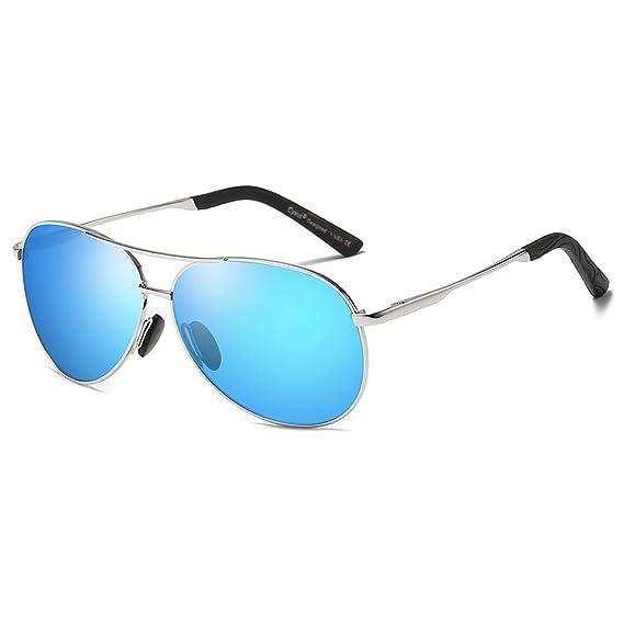 Cyxus Gafas de Sol Hombre Polarizadas, Gafas de Sol para Hombre UV400 Protection - Stylo Clásico Retro