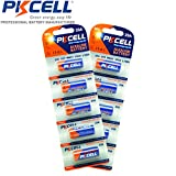 PKCELL 10 Pack of 23A A23 23AE Mn21 12V Alkaline Batteries
