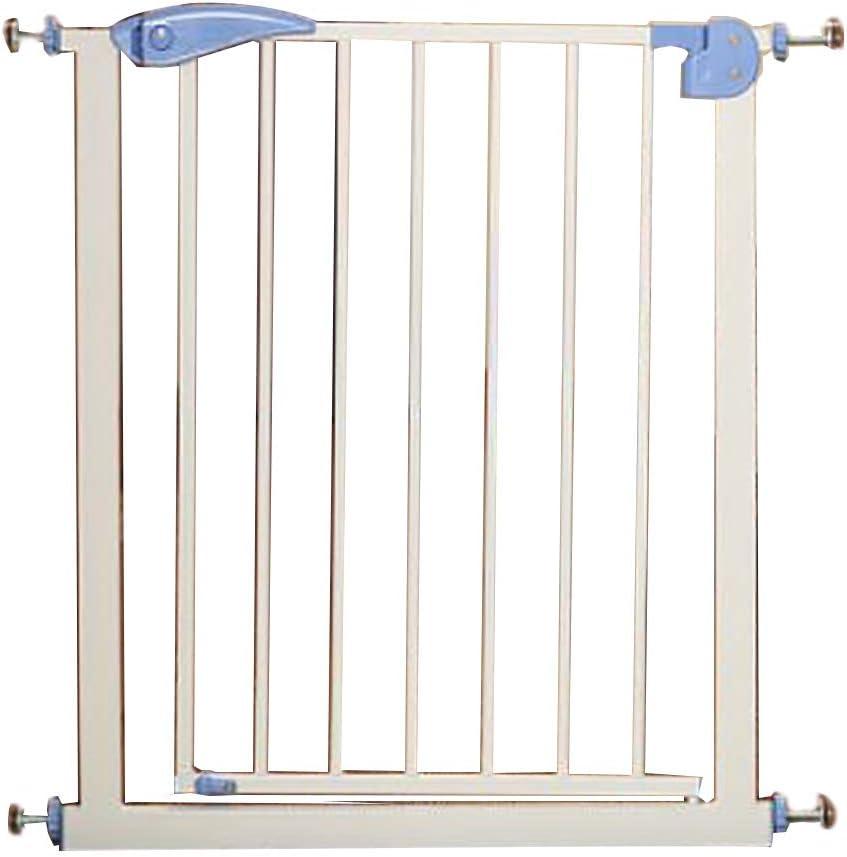 Zfggd Compuerta De Presión Ajuste De Seguridad Puerta De Seguridad para Bebés Puerta De Seguridad para Mascotas, Protector De Escaleras Balcón Y Barandilla De Escalera: Amazon.es: Hogar