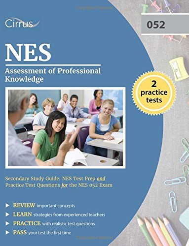 NES Assessment of Professional Knowledge Secondary Study Guide: NES Test Prep and Practice Test Questions for the NES 052 Exam by NES Secondary Exam Prep Team (2016-10-14)