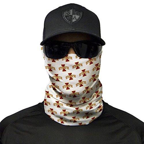 SA Company College Face Shield Mask for Tailgating. Bandana, Neck Warmer - Face Cyclone Shield