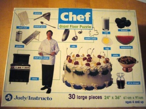 Chef Giant 30-piece Floor Puzzle by Judy Instructo