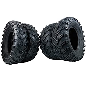 MassFx P377 ATV/UTV Tires 25 x 8-12 Front & 25 x 10-12 Rear, Set of 4 …