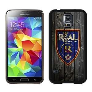 Unique Photo Case,salt lake real on wood Black Custom Samsung Galaxy S5 Cover Case