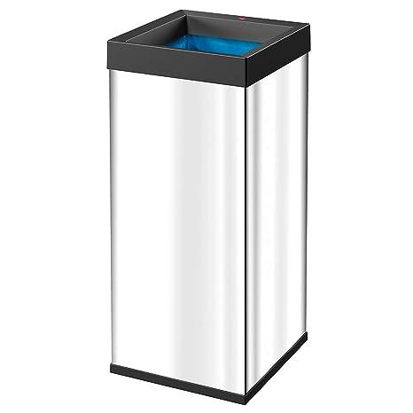 Amazon.com: Hailo Big Box 80 Quick Cubos de basura, acero ...