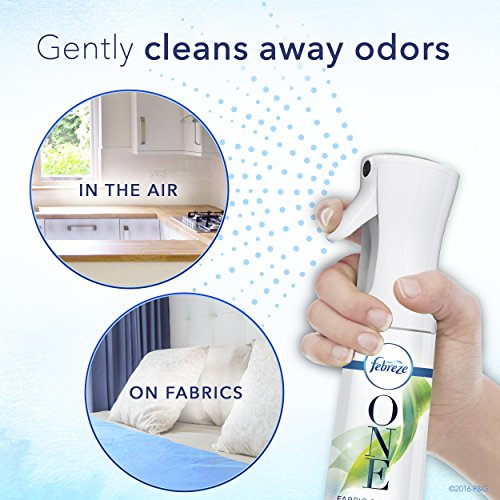 Febreze ONE Fabric and Air Freshener, 100% Natural propellant, Starter Kit