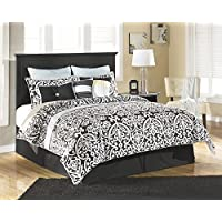 Maribel Black Queen/Full Panel Headboard