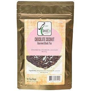 Special Tea Black Tea, Chocolate Coconut, 1.41 Ounce