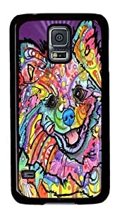 Rosesea Custom Personalized Pom Love PC case Cover for Samsung S5 and Samsung Galaxy S5