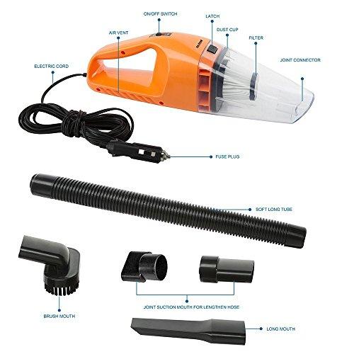 Car Vacuum Cleaner Focipow Dc 12 Volt 120w Wet Amp Dry