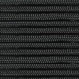 Marine Masters 5', 10', 20', 25', 35', 50', 60' 75' 90' 100', 250' 300' 500' Hanks & 1000' Spools of Black Paracord 550 Cord Type III 7 Strand Core Black