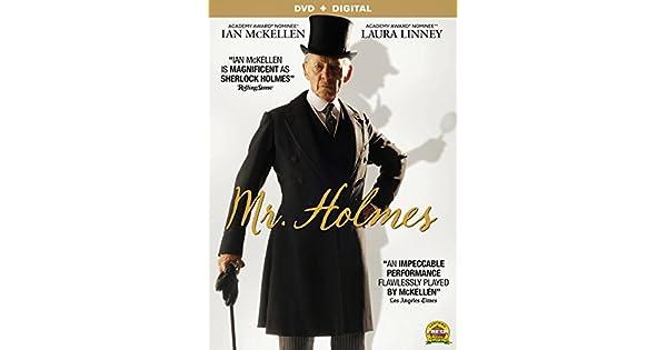 Amazon.com: Mr. Holmes [DVD + Digital]: Ian McKellen, Laura ...