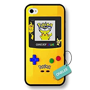 Black Hard Plastic Nintendo Gameboy iPhone 4s case & Cover - Black 1