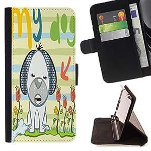 Skull Market - FOR Sony Xperia Z3 Compact - love and hearts - Caja de la carpeta del tirš®n del cuero de la PU [con ranuras para tarjetas y cierre de solapa magnšŠtica] Pš¢rese cubierta de la caja