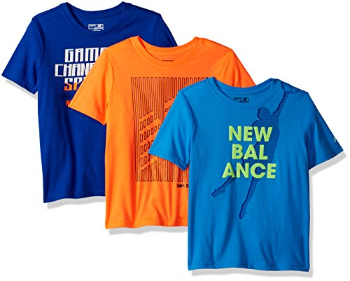 New Balance Boys' 3 Pack Graphic Tee