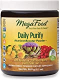MegaFood, Daily Purify Booster Powder, Gentle Elimination and Detoxification Support, Liver Health Supplement Vegan, 2.1 oz (30 servings)