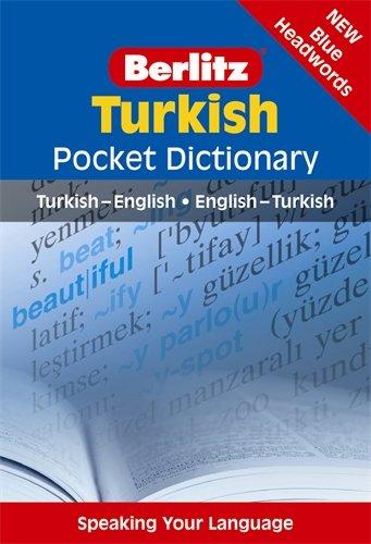 Berlitz Turkish Pocket Dictionary (Berlitz Pocket - English Dictionary Turkish To