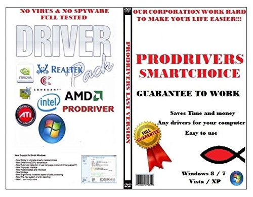 Drivers Recovery & Restore for Compaq Presario 734EA 470038-136, Fast Repair!DVD, ALL drivers for audio, video, chipset, Wi-Fi, Usb and+, Everything you need to fix your drivers problems!(Last Version) All Windows!