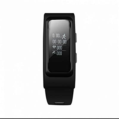 Bluetooth Smart Bracelet Fitness Tracker Podomètre Bracelet De Mode Bande,La Pression artérielle,Sommeil chronomètre,Calorie et Distance,Simple Classic,Protection écran,avec NFC pour les Tél
