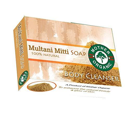 Mother Organic Multani Mitti Soap/Fuller's Earth - 100gm