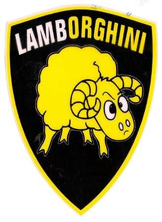 Lamborghini Funny Lamb Sheep Car Sticker Sh28 Amazon Co Uk