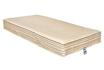 Yanis Latex Plus 100 Bio Matelas Latex Medium Latex Blanc Euro