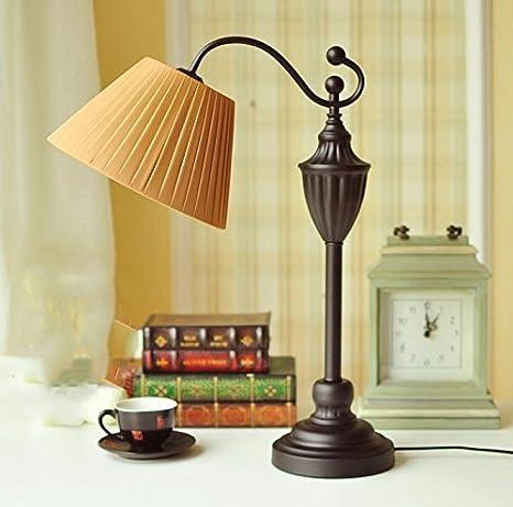 DHG Lámpara de Mesa-Lámparas de Escritorio Simples Habitaciones ...