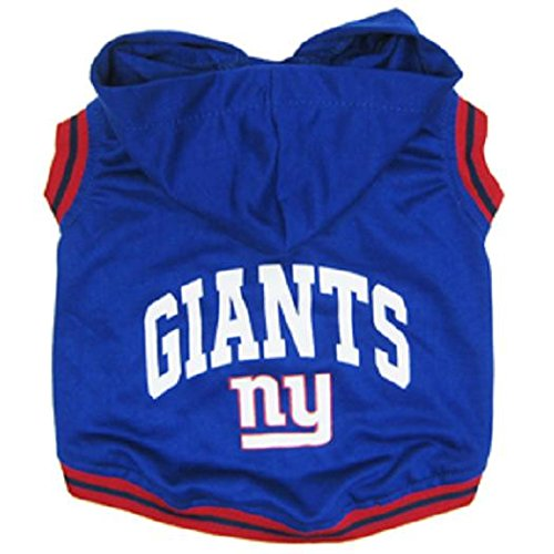 Pets First NFL New York Giants Hoodie, Medium