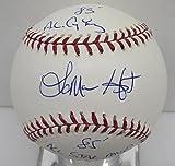 Lamar Hoyt Signed Baseball OML Autographed TriStar MLB Authentic BB1 26007