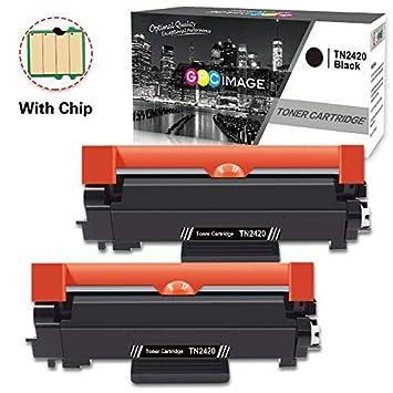 2 GPC Image TN2420 TN-2420 Cartuchos de tóner Compatible para ...