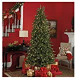 Uneedum 7.5' Prelit Artificial Xmas Tree with 500 LED Lights