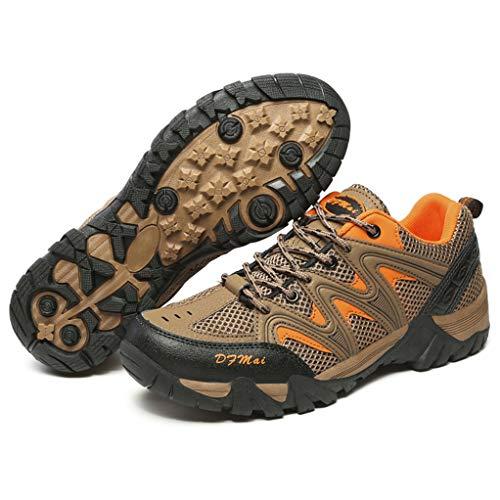 Giles Jones Mens Mountain Walking Sneakers Durable Climbing Man Tourism Trekking Shoes