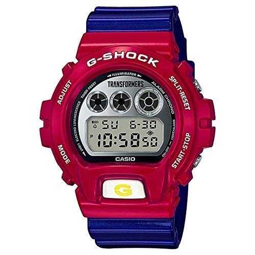 TRANSFORMER G-Shock DW-6900TF-SET Transformers Collaboration Master Optimus Prime RESONANT Mode [with G-Shock] Anniversary Limited Watch (Japan Domestic Genuine Products) (Ltd Watches Watch)