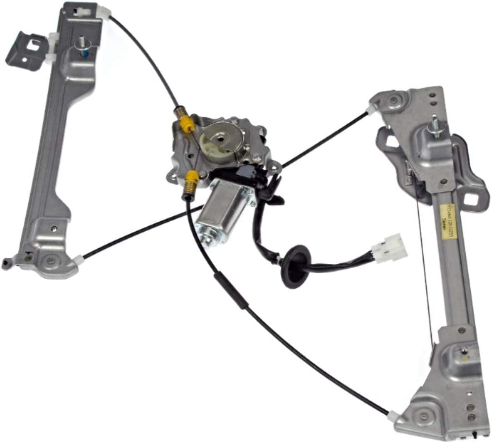 BAP Fits 04-08 Maxima Driver Front Power Window Regulator with 6 Pin Motor