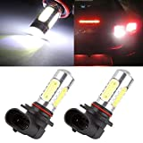 cciyu 9006 HB4 High Power White Epistar COB Chip Car LED Bulb for 2006 2007 2008 2009 2010 2011 2012 Acura RDX Fog Light,2 Pack
