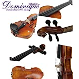 D Z Strad Violin LC101 Full Size 1/10 with Case, shoulder rest, bow, and Rosin