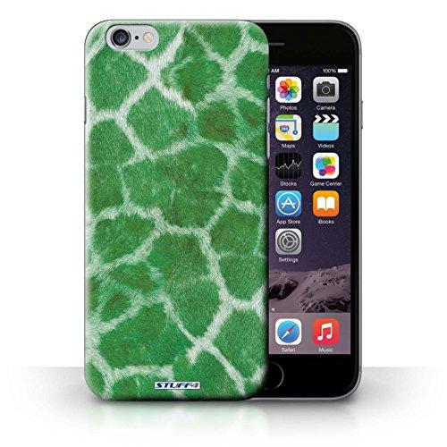 Etui / Coque pour iPhone 6+/Plus 5.5' / Vert conception / Collection de Girafe animale Peau/Motif