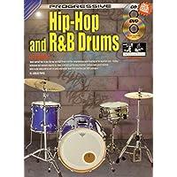 Progressive Hip-Hop & R&B Drums Bk&CD&DVD&Drum Chart