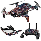MightySkins Skin for DJI Mavic Air Drone - Wild Jungle | Max Combo | Protective, Durable, and Unique Vinyl Decal wrap Cover | Easy to Apply, Remove, and Change Styles | Made in The USA